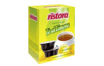 tè al limone in capsule