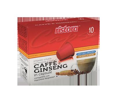 capsula caffè ginseng